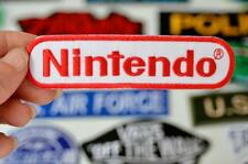 NINTENDO Software Gamer Game Video TV Company Cloth Patch Iron/Sew On Patches