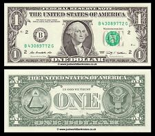 Stati UNITI USA 1 DOLLARO 2009 p-530 SERIE B (New York) UNC