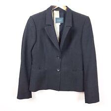 Ted Baker 3 Black Spotted Blazer Jacket Work Career Lined 100% Wool Hadar Cosmo