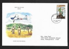 KENYA 1980 FIRST DAY COVER FLYING DOCTOR SERVICE SURGERY