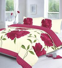 Duvet Cover with Pillow Case Quilt Cover Bedding Set King Double Single All Size