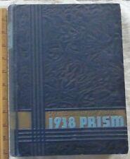 Vintage 1938 University Of Maine ME 1938 Yearbook PRISM