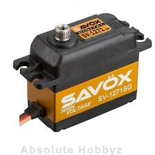 Savox Monster Torque High Voltage Titanium Gear Digital Servo - SAV-SV-1271SG