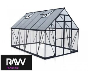 Clear Polycarbonate Sheet Perspex Unbreakable Plastic Greenhouse Shed Window 2mm