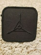 Triple Aught Design Logo Patch Blacked Out