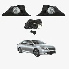 Fog Light Kit for Toyota Aurion GSV50 2012-2017 Black with Wiring & Switch