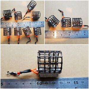 8off @ 4off 25g & 4off 20g 25mm high x 25mm diameter Small cage feeders
