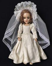 """18"""" COMPOSITION MADAME ALEXANDER WENDY ANN BRIDE 1940'S"""