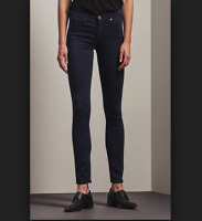 AG Adriano Goldschmied Womens The Legging Ankle Super Skinny Jeans Blue Size 26