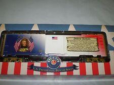 Lionel 6-81488 U.S.Presidential Boxcar Series Andrew Jackson Boxcar New Nib