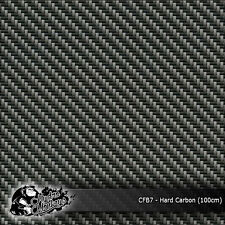 1m of Hard Carbon - Black Weave Film 100cm hydrographics water transfer film