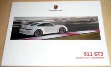 uso manutenzione Porsche 911/991 GT3,libretto istruzioni in Italiano