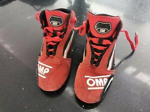 Omp Kart Boots Junior
