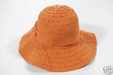 NUOVO COCCINELLE elenganter DA DONNA CAPPELLO BERRETTO Piatto Hat 1-15 (109)