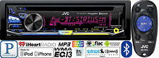 JVC Car Radio Stereo CD Player Pandora Iheart Radio USB AUX Remote