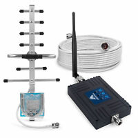 900/1800/2100MHz Mobile Signal Booster 70dB Amplifier for Band 8/3/1 Vodafone O2