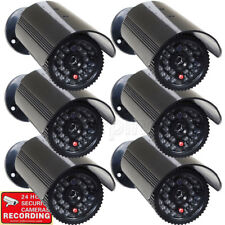 6x Dummy Security Camera Fake Infrared Leds Flashing Light Home Surveillance m2i