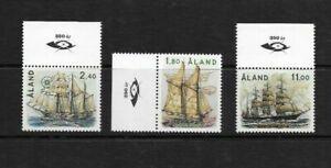 Aland Islands - Sailing Ships Set - 1988 - MNH - Cat Value £21+