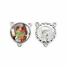 22mm Catholic Religious Faith Cross Enamel Art  Medals Pendants Jewellery 20Pcs