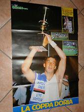 MAXI POSTER 80X58 SAMPDORIA WINNER COPPA ITALIA WINNER 1988-89 1989+ RETRO INTER