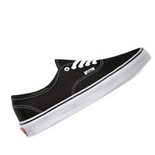 VANS Authentic Men US 11 Black SNEAKERS Pre Owned 2443