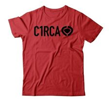 C1RCA DIN ICON RED T-SHIRT-MENS-LARGE