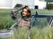 PHOTO CESAR ET ROSALIE - ROMY SCHNEIDER FORMAT 20X27 CM