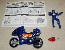 Power Rangers Jungle Fury Blue Jaguar Strike Rider - complete w/ instructions