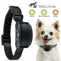 Rechargeable Anti No Barking Collar Electric Shock Dog Pet Bark Training Collar