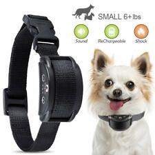 Rechargeable Anti No Barking Collar Electric Shock Dog Pet Bark Training Collar