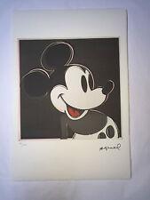 Andy Warhol Litografia 57 x 38 Arches France Timbro Secco Galleria Arte A995
