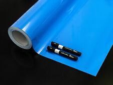 Tafelfolie Selbstklebend Folie Kreidefolie Kreide Wanddeko Klebefolie Tafel blau