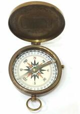 American Boy Scout Compass Antique Vintage Brass Compass Christmas Gift