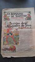 Revista La Semana De Suzette Dibujada Color N º 23 Junio 1929 ABE