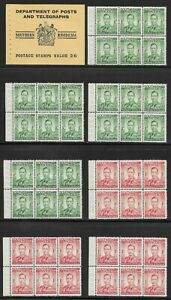 SOUTHERN RHODESIA 1945-49 KG VI EXPLODED BOOKLET VF MNH. SG SB4b CV £350(INTACT)