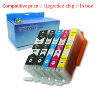 5PK PGI570 CLI571 Compatible Ink Cartridges for Canon Pixma MG5750 MG5751 MG5752