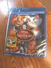 The Aristocats: Disney; Blu-ray/DVD, 2012,2-Disc,Special Ed.) New, I Ship Faster