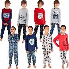 Kids/Boys Cotton Pyjamas Pyjama Childrens PJs Age 3-12 Years
