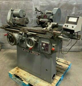 Brown & Sharpe 814U Universal Cylindrical Grinder VALU MASTER Grinding Machine