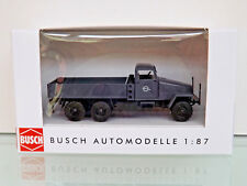 Busch 51507 - H0 1:87 - Ifa G5 ´56 , Usine de Véhicule Dresden, Gris -