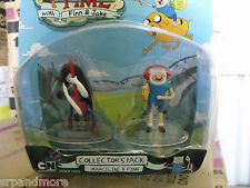 Adventure Time 2-Inch Action Figures Pack/Marceline & Finn /new
