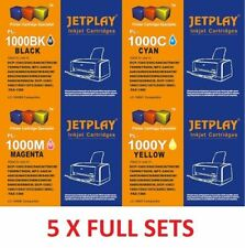 20 jetplay Cartucce di inchiostro LC970 LC1000 lc960 compatibili per Brother 5 set completi