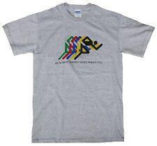 Bravado Official OLYMPIA MÜNCHEN MUNICH 1972 Merchandise Läufer Logo T-Shirt S/M