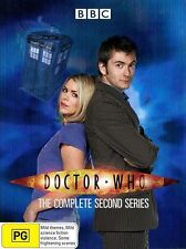 Doctor Who : Series 2 (DVD, 2006, 6-Disc Set) Perfect Condition