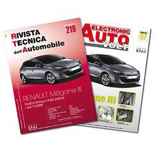 1 Manuale riparazione/manutenzione + 1 Manuale Diagnosi Auto Renault Megane III