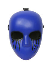 Xcoser Creepypasta Mask Eyeless Jack Cosplay Purple Resin Mask for Halloween