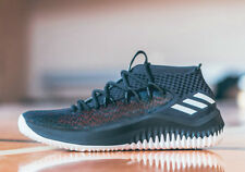 adidas Dame 4 Damian Lillard Basketball Shoes Static Black CQ0477 Men's Size 14