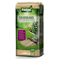 PLANTOP Rasensand 20 kg MIT Wurzelaktivator Rasen-Sand Rasenpflege Rasenerde NEU