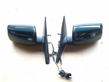 BMW 5 Series Pair Left Right Wing Mirrors Green Lci Facelift E60 E61 BREAKING