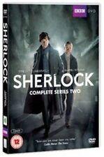 BBC SHERLOCK SERIES TWO UK DVD SEASON 2 BENEDICT CUMBERBATCH NEW SEALED FREEPOST